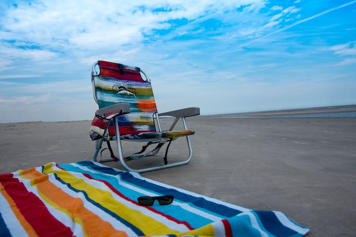 Now you know all the reasons to come and visit St Simons Island ...Her is your chair what are you waiting for ...Come give us a visit...!