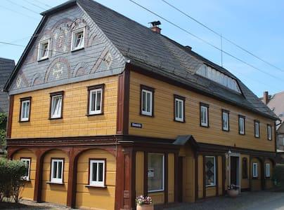 Ferienhaus Selma, Ferienwohnung Blockstube - Großschönau