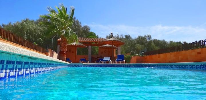 M4V1620 Villa mit Pool bei Campos; max. 10 Pers.