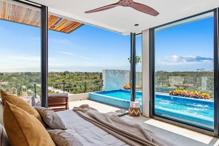 Enjoy spectacular suite with private pool, Tulum