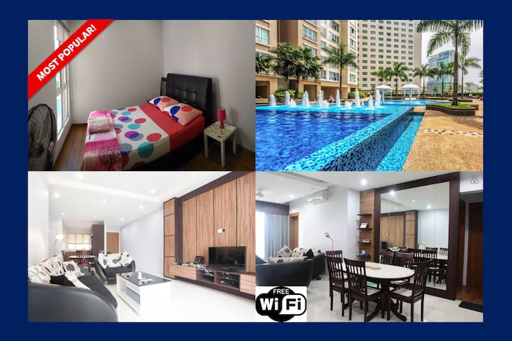 Best Place to Relax & Explore KL - Room 2 - Kuala Lumpur - Apartment