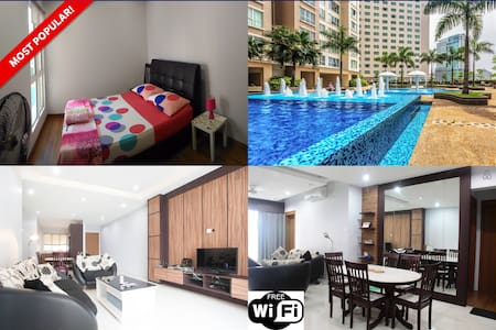 Best Place to Relax & Explore KL - Room 2 - Kuala Lumpur - Wohnung