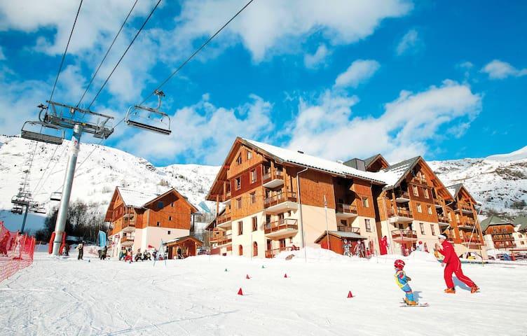 Vacances à Saint Sorlin d'Arves! Appartement Ski aux Pieds + Wi-Fi