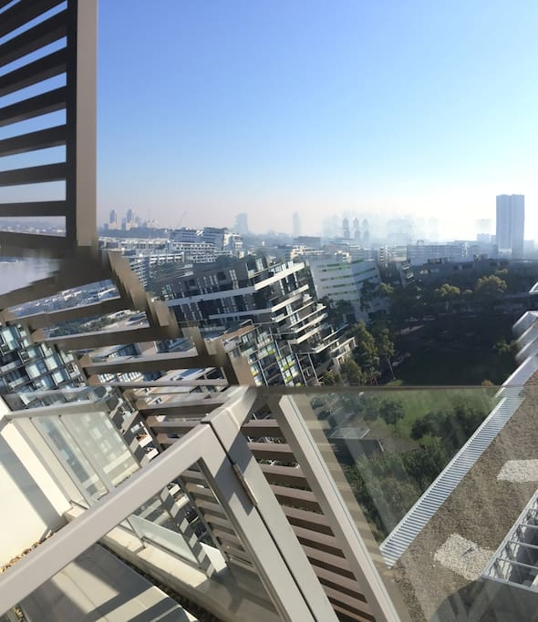 Balcony during day