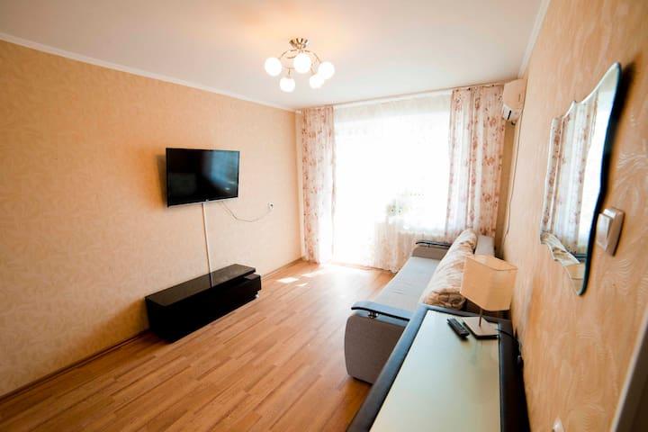 Квартира в молодом районе, центра города - Khabarovsk - Leilighet