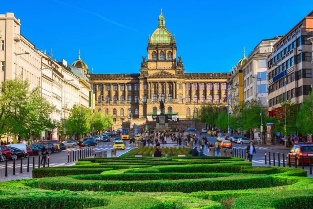 5 minutes walk from the Wenceslas Square