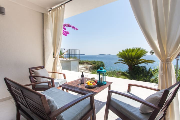 Palma - One Bedroom Apartment with Sea View - Mlini - Apartamento