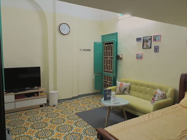 Room is warm and peacful space that is suitable for families at right the center of Hanoi Old Quarter.