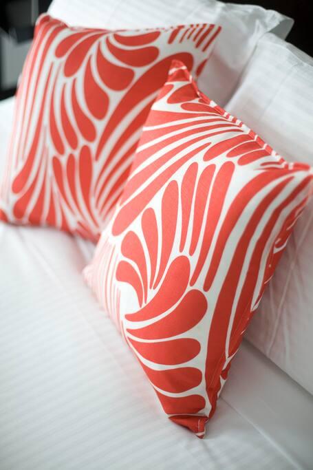 Comfort with deep pillow top mattress