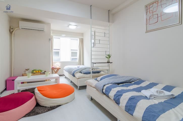 Nightlife Area/Shibuya St. 6 mins - Shibuya-ku - Apartament