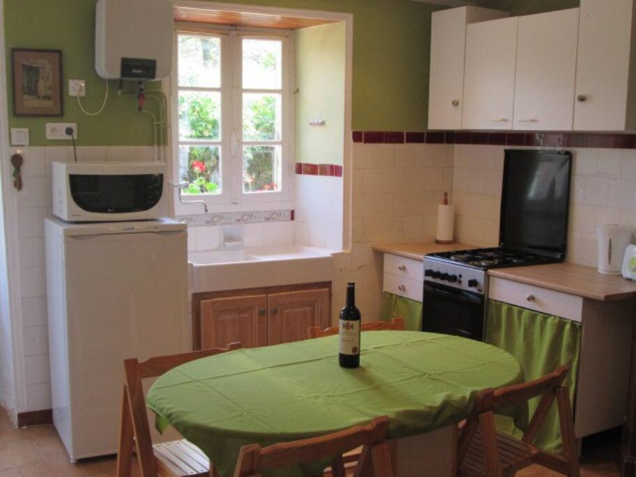 Kitchen is fully equipped with everything you need!