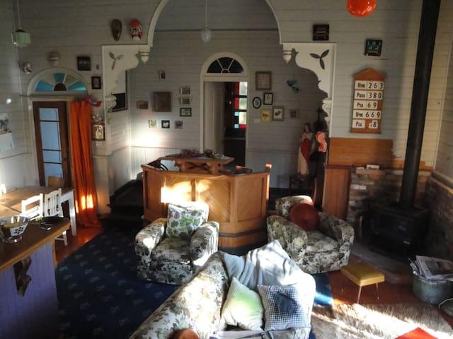 lounge with en-suite altar