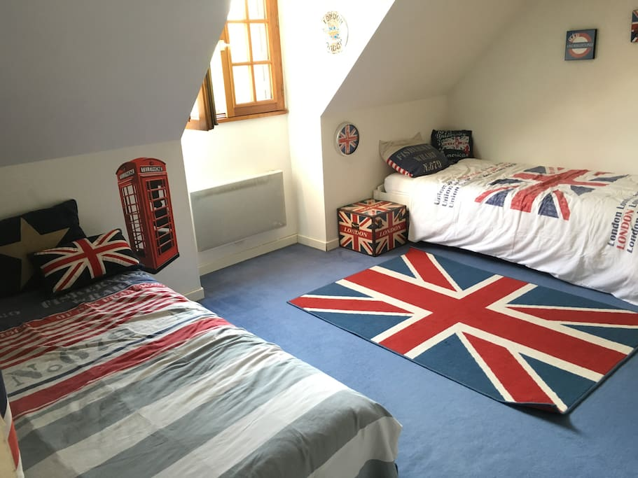 Chambre Enfants; 3 lits
