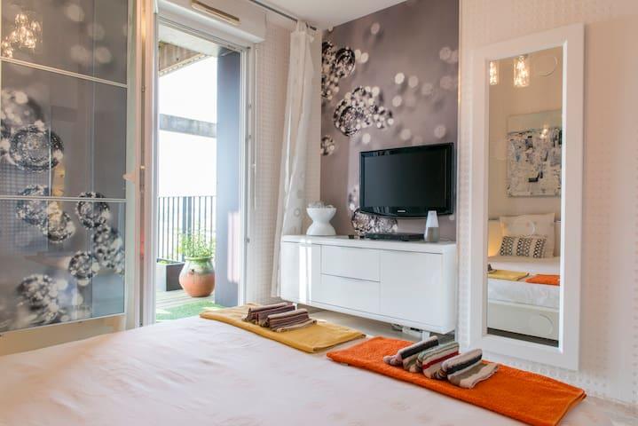 Outstanding terrace view of Loire - Nantes - Lägenhet