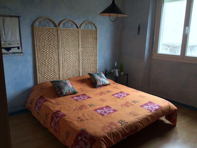 Chambre en toute simplicité - Mirepoix  - Rumah
