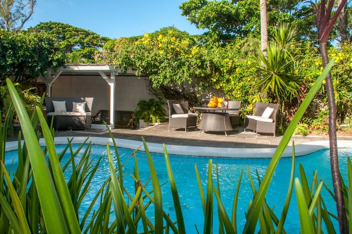 Eden : Plage à 200m, accès piscine - Blue Bay - Villa