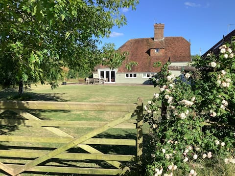 15th C  restored farmhouse overlooking orchards