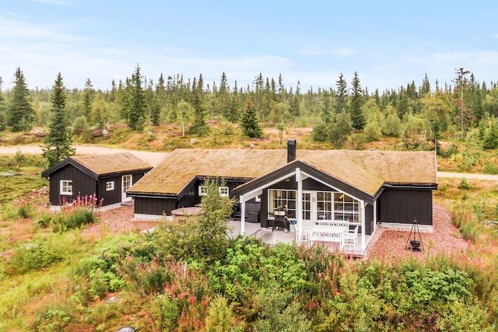Trysil - Flott hytte med anneks. Solrik utsikt.