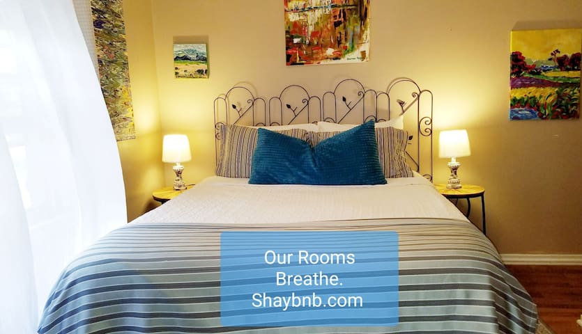 $1200 Gel Bed + Breakfast Shaybnb Dwntn 9