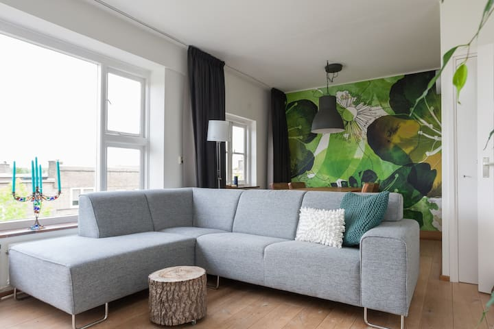 Attractively bright house near city centre Utrecht
