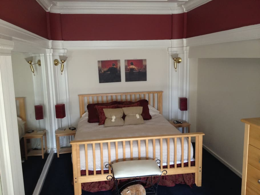 Great Large California King Size Bed.