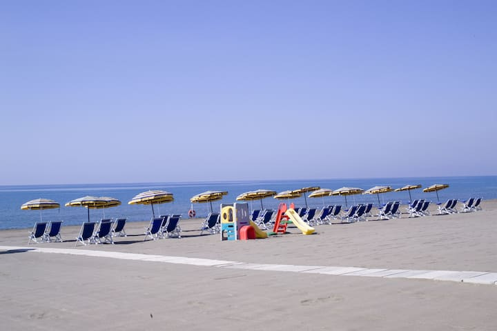 Villa 8 people Beach Included