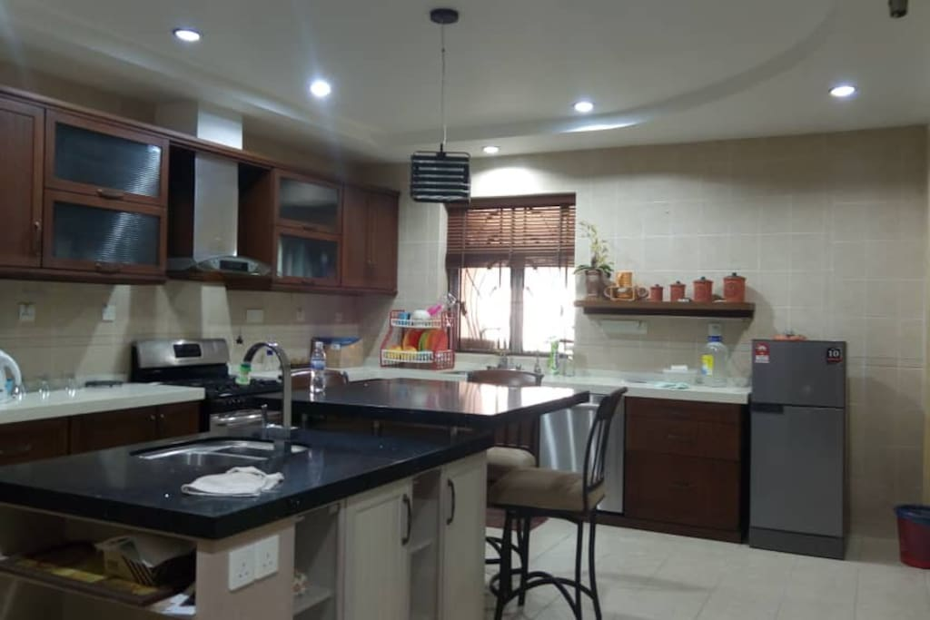 Huge Kitchen with Island