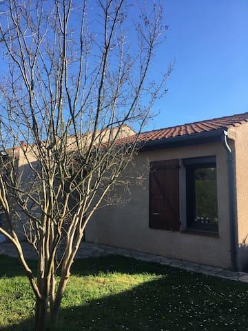 Petit T2 indépendant - Villeneuve-Tolosane - Huis