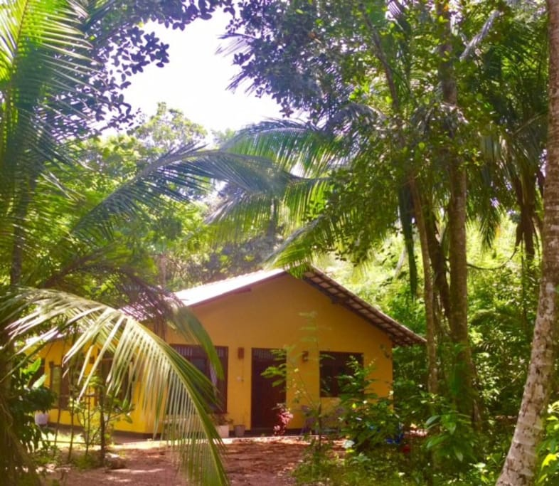 Cute and comfy bungalow in a great location.