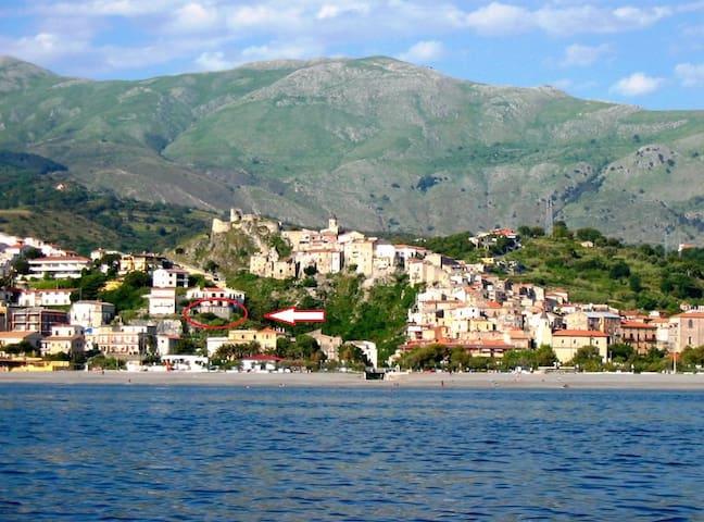 View from the sea, La Conchiglia vista dal mare