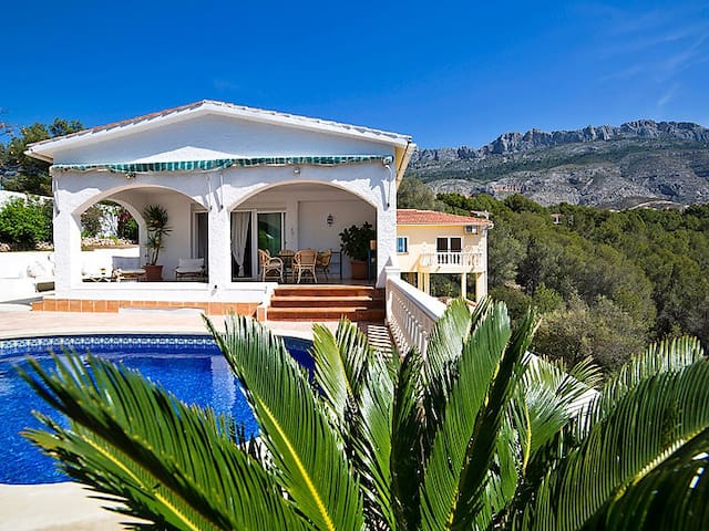 Altea Villa seaview, Pets Allowed - Altea la Vella