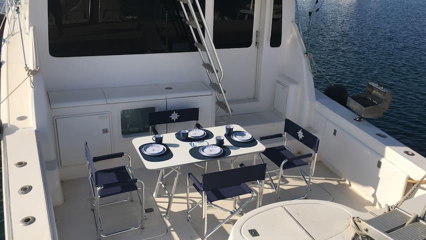 Farniente sur yacht