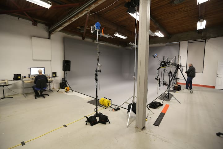 Photography and Large Video Production Studio