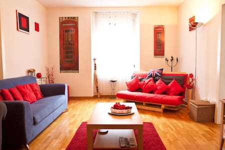 Room in Relaxed Flat, Luzern City - Lucerne - Apartment