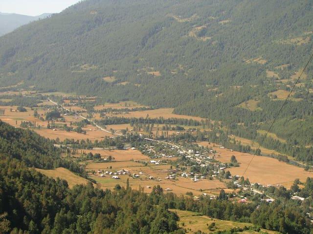 Liquine Valley , Cabanas Rio Lindo