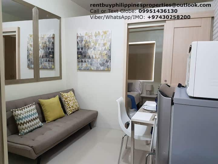 Fully furnished Field Residences next to mall&NAIA