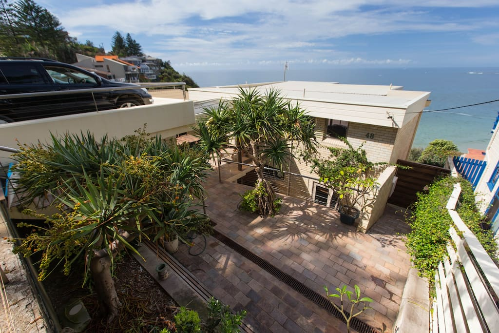 Stylish beach front home case in affitto a bilgola beach for Houseplans vivente del sud