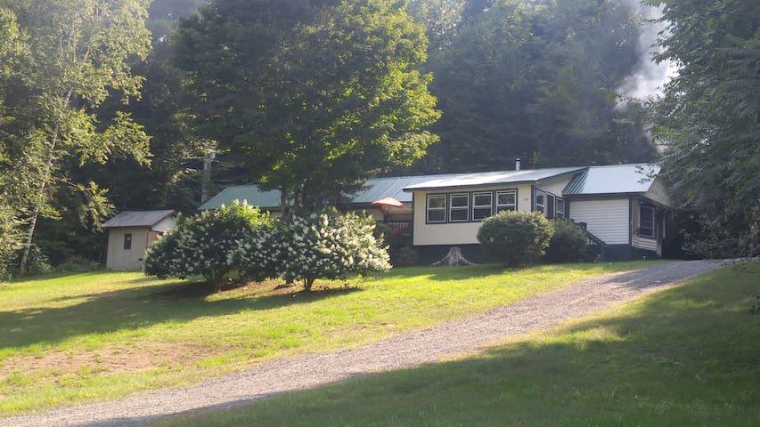 Adirondack House, Sacandaga river, Northville, NY.