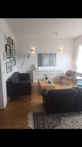 Bright,beutiful,comfy !! - Seltjarnarnes - Apartment