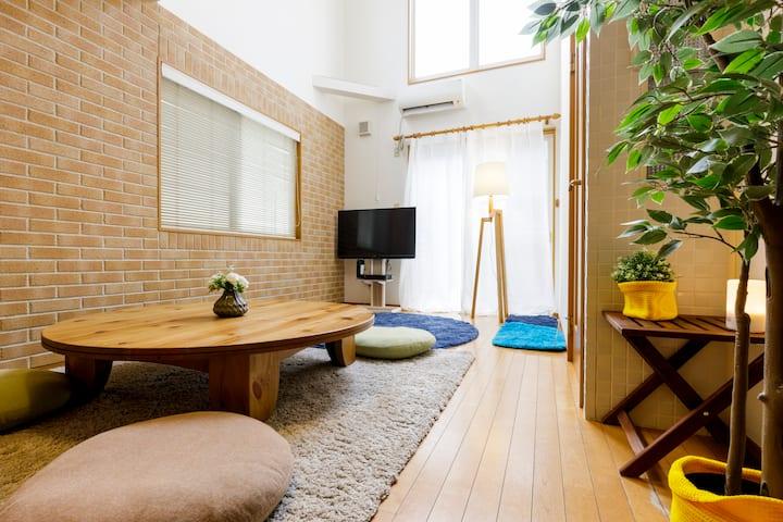 Rooftop Terrace ★ Cute 2-Bedroom Beach House