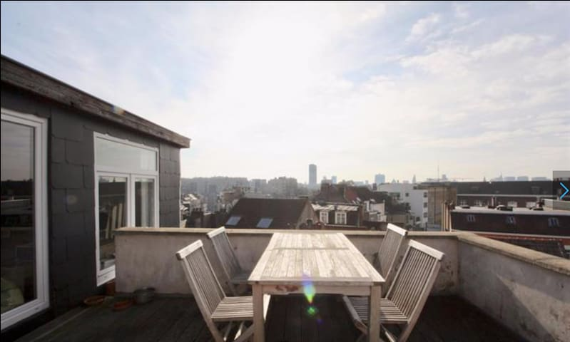 Charming Breathtaking View Studio On All Brussels