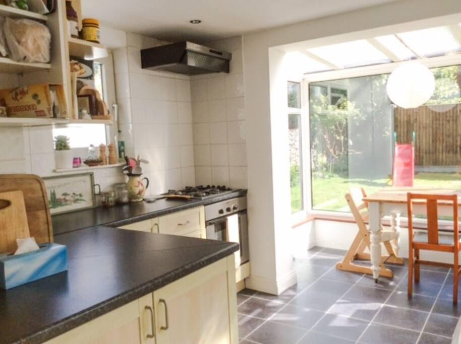 Lovely light kitchen/breakfast room