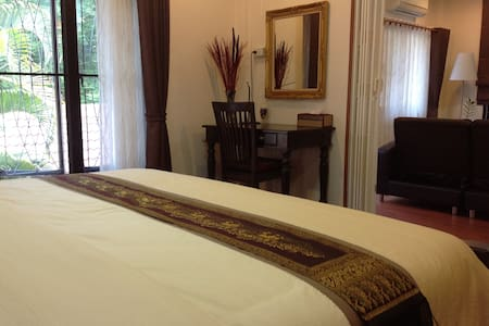 Two nice rooms, living and bedroom - Muang - Hus