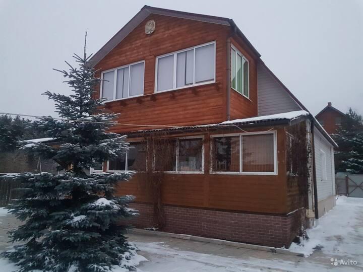 Дом с русской баней, хамамом, с бассейном 35-36*
