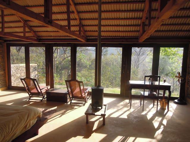 Aashraya on Ganga - Cozy Cottage - Dist Pauri Gharwal - Rumah Bumi