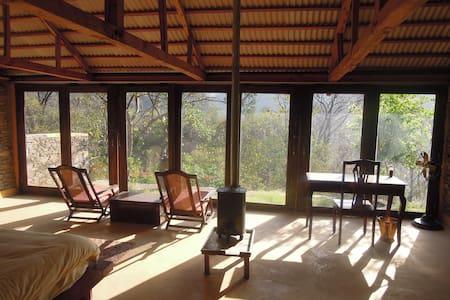 Aashraya on Ganga - Cozy Cottage - Earth House
