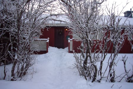 Friendly family house, lovly garden - Hvolsvöllur
