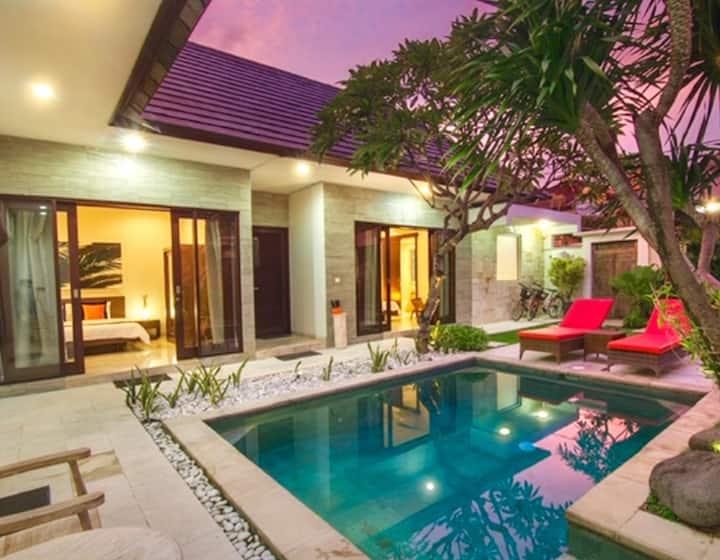 Sanur-Spacious Villa with garden, pool and Gazebo