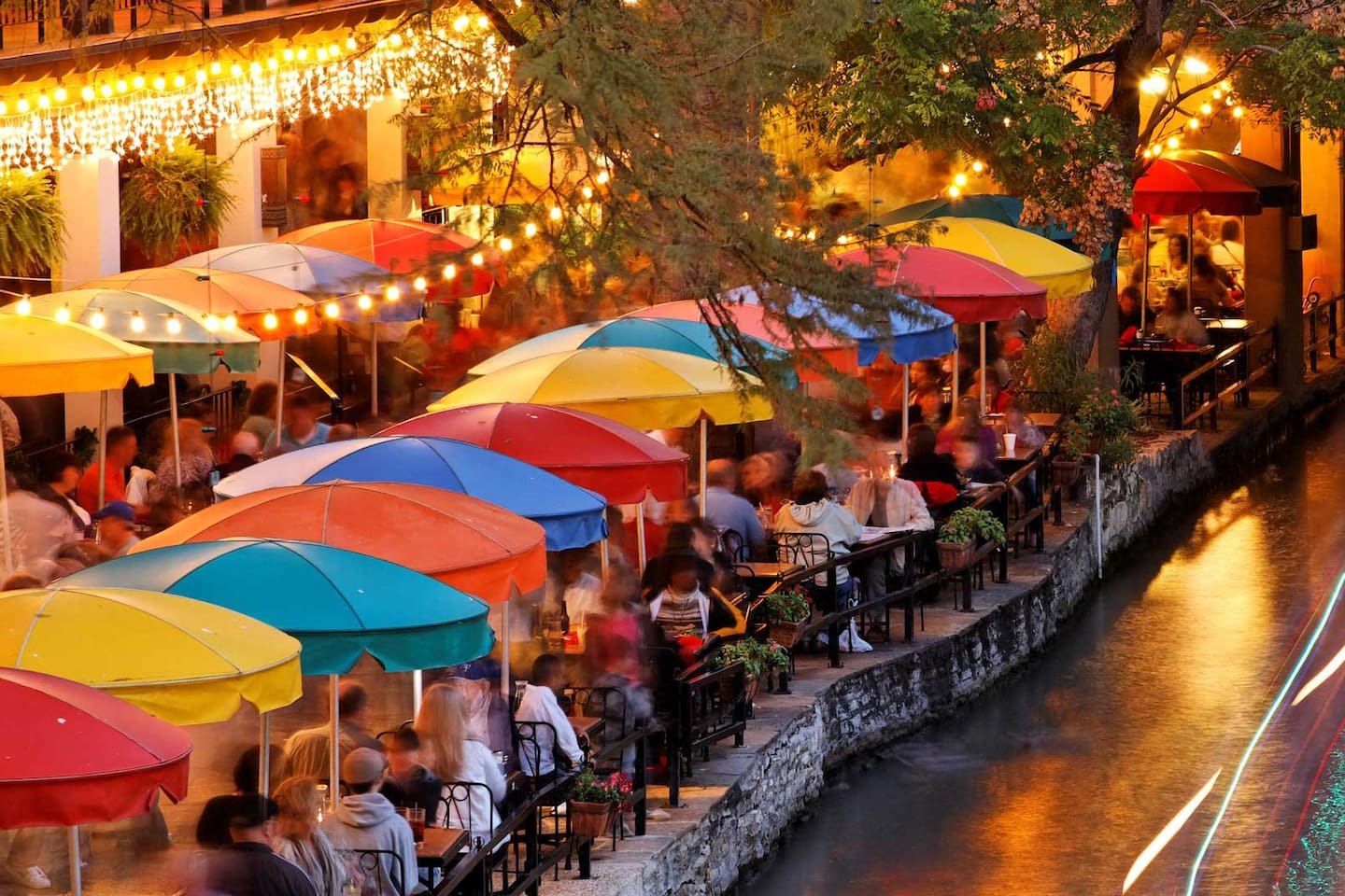 Fiesta on San Antonio River & throughout city