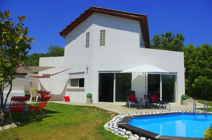 Villa Contemporaine La Lumina - Durfort-et-Saint-Martin-de-Sossenac - บ้าน